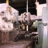 auxiliary engine for furnaces